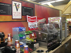 Coffee, Snack, Convenience Counter